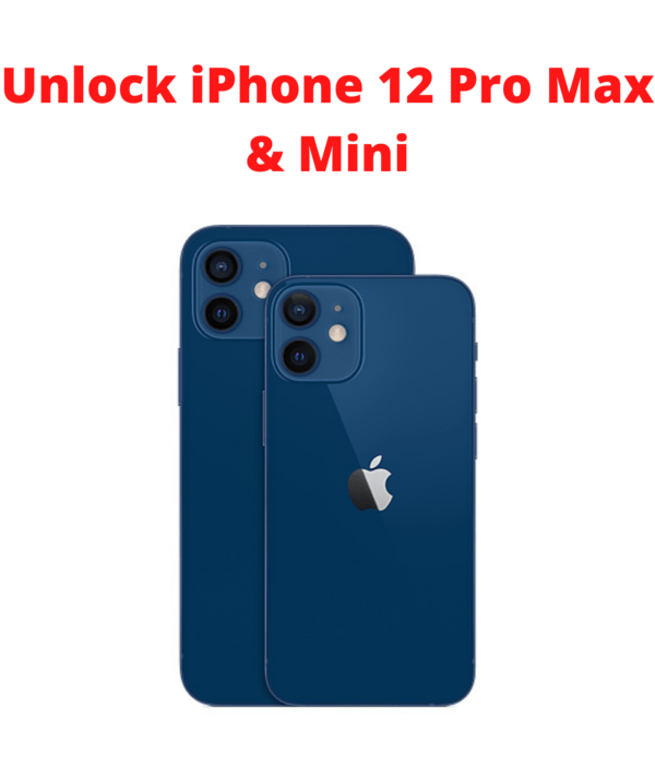 Unlock iPhone 12 PRO MAX CARRIER and change SIM card to use other network